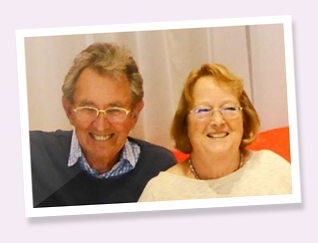 Martin and Eve Sweeting - Members since May 2013
