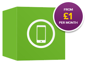 Handsets from £1 per month